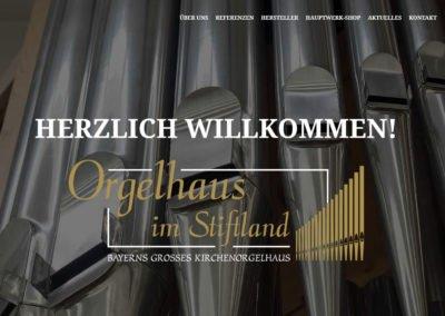 Orgelhaus im Stiftland