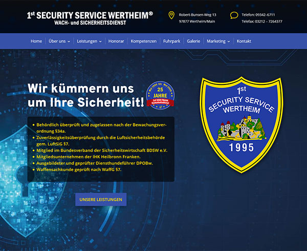 1st Security Service Wertheim